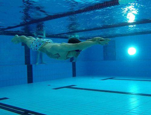 Schneller Schwimmen: An Anfang steht die Wasserlage