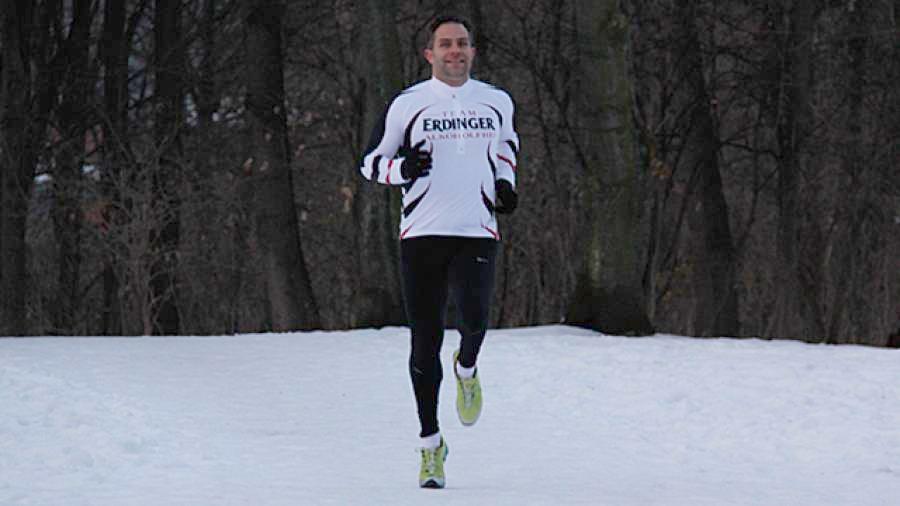 Laufen bei Schnee und Minusgraden